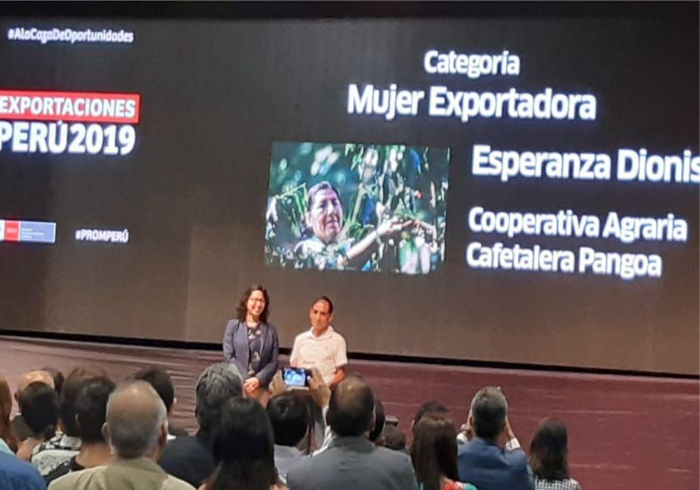 PREMIACIÓN MUJER EXPORTADORA 2019 PROMPERU